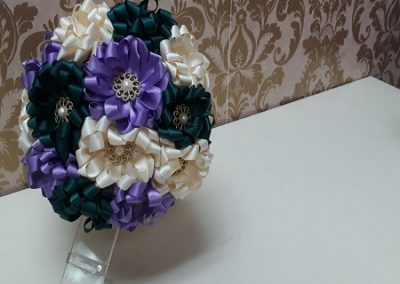 Ribbon Bouquet Making